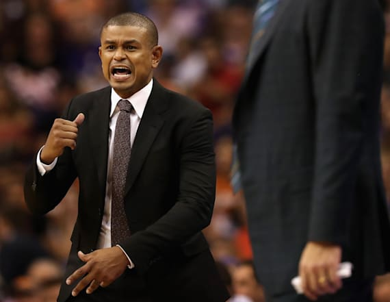Phoenix Suns head coach Earl Watson has been fired
