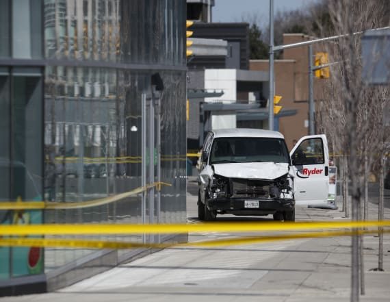 Police: 9 dead in Toronto van incident, 16 injured