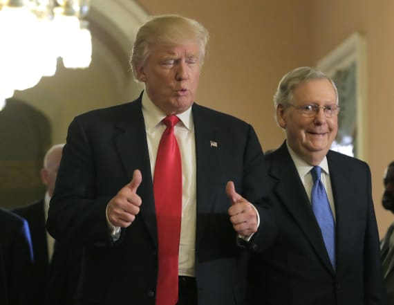 Report: Trump and McConnell have not talked in weeks