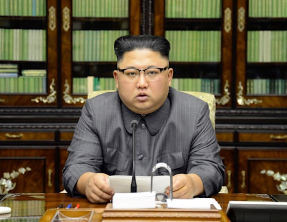 Kim Jong-un delivers rare statement on Trump