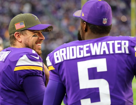 Vikings QBs wait for answers ahead of free agency