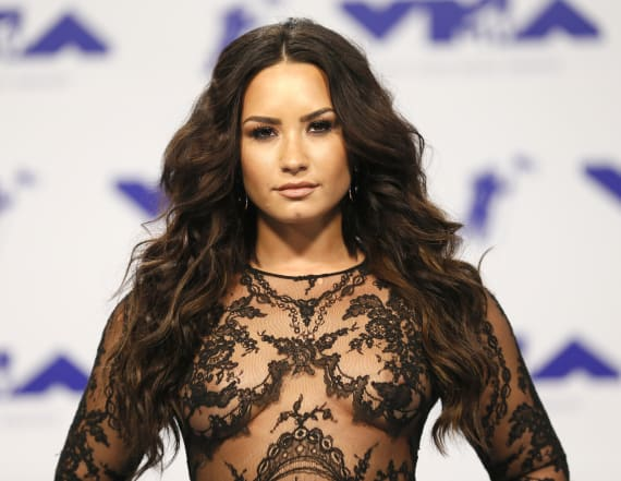 Demi Lovato shares before and after eating disorder