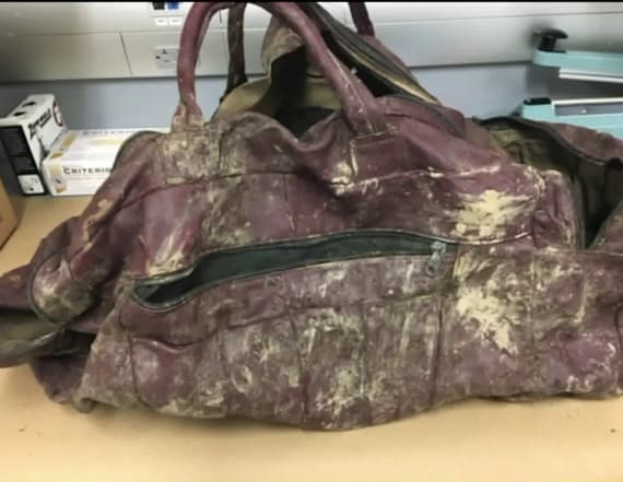 Gruesome discovery in duffle bag found in lake