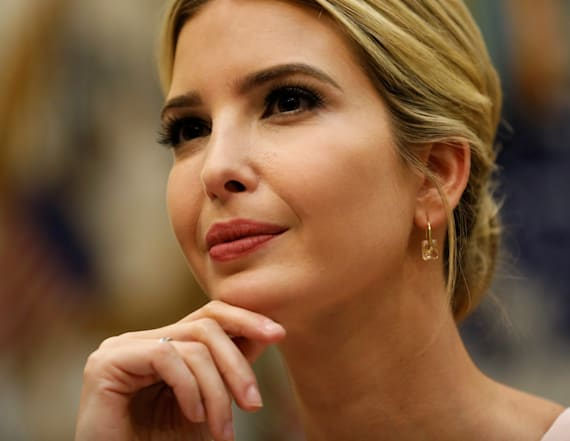 Ivanka has to ask to talk to Trump about White House