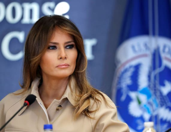 Poll: Melania Trump's approval rating drops