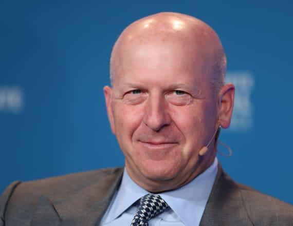 Goldman Sachs names David Solomon as CEO