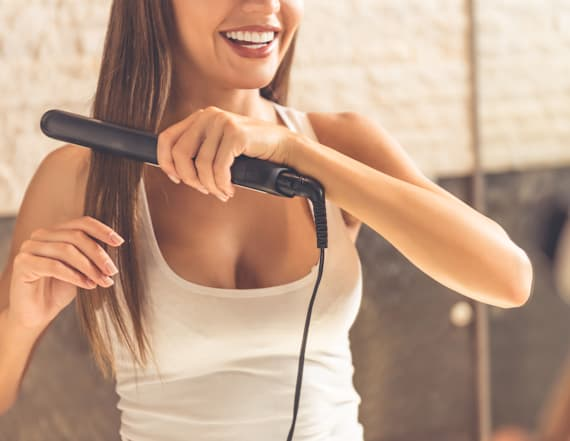 Mini hair iron and other amazing deals on Amazon