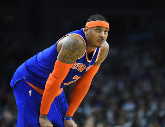 Carmelo Anthony has been traded to Oklahoma City
