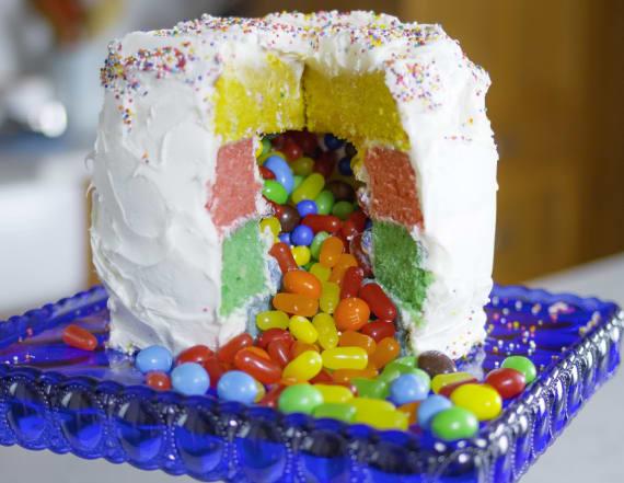 Best Bites: Piñata cake
