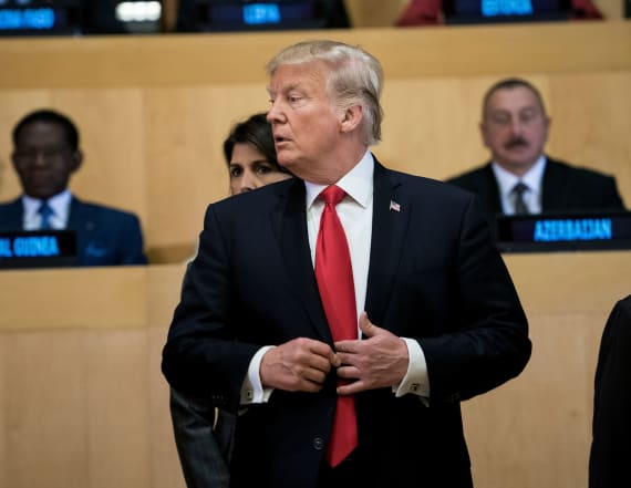 WATCH: Trump addresses 'grave dangers' in UN speech