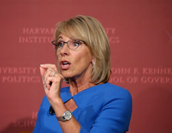 DeVos remarks on expectations for disabled students