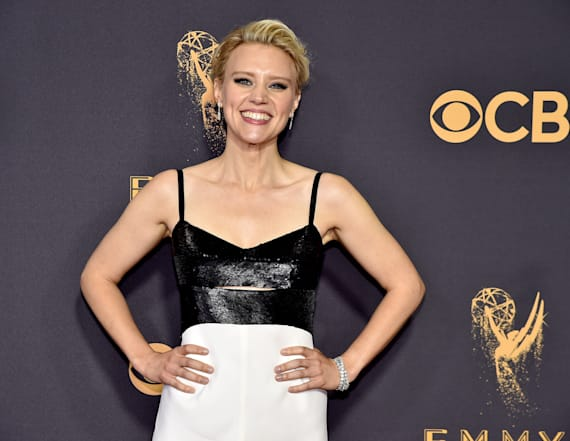 Kate McKinnon and girlfriend spotted at Emmys