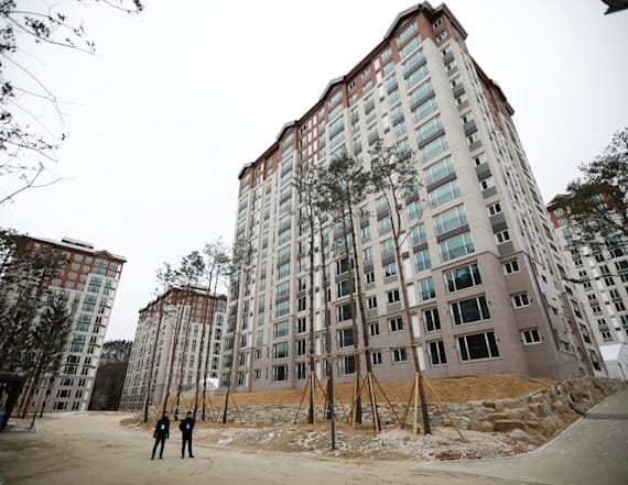 Winter Olympic village starkly different than Rio's