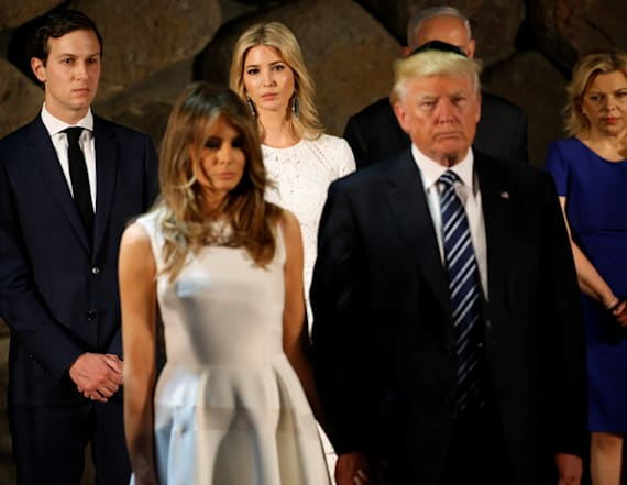 Internet divided by Melania's outfit in Israel