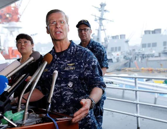 US Navy removes Seventh Fleet commander