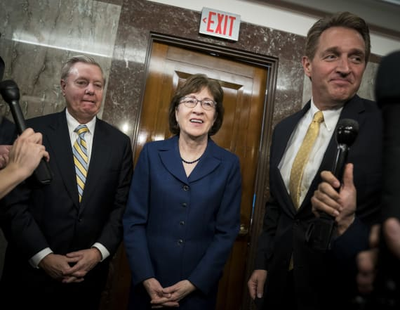 Moderate GOP senators urge firmer immigration pledge