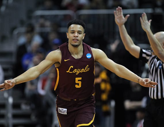 Loyola Chicago holds off Nevada in wild victory