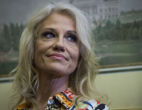 Kellyanne Conway changes her position on Roy Moore