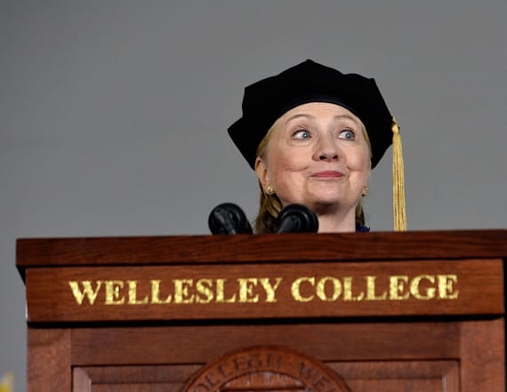 RNC fires back at Clinton's commencement speech