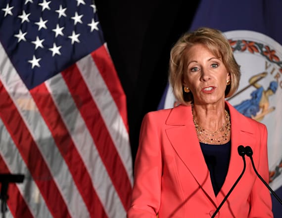 DeVos rescinds Obama-era Title IX protections