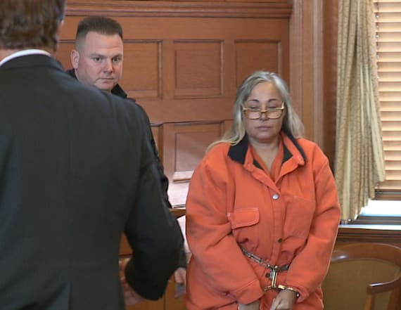 Woman accused of killing husband pleads not guilty