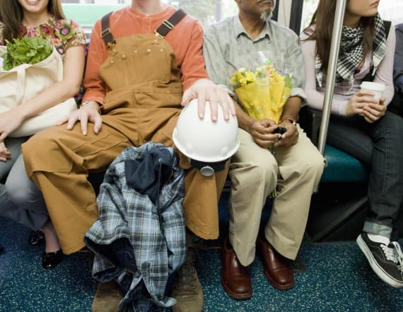 One city will be dishing out a fine for manspreading