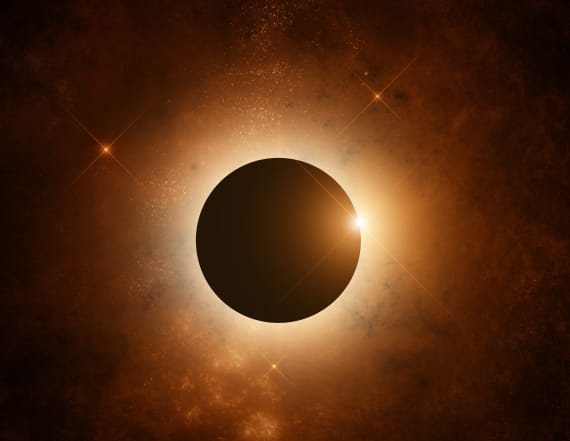 The only one real danger during total solar eclipse