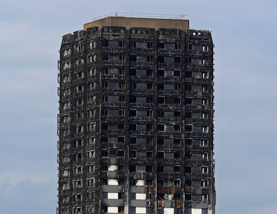 Theft at burnt London tower adds to grueling work