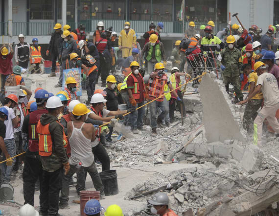 No girl trapped in school rubble in Mexico: official