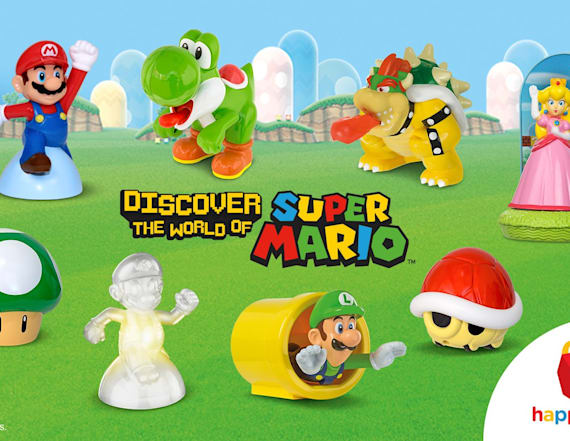 Nintendo-themed Happy Meal toys are back!
