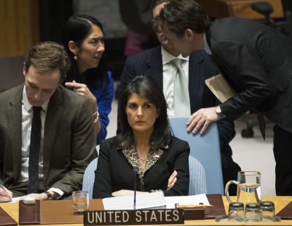 US vetoes UN call for withdrawal of Trump decision