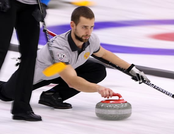 Russian curler in trouble for positive doping test