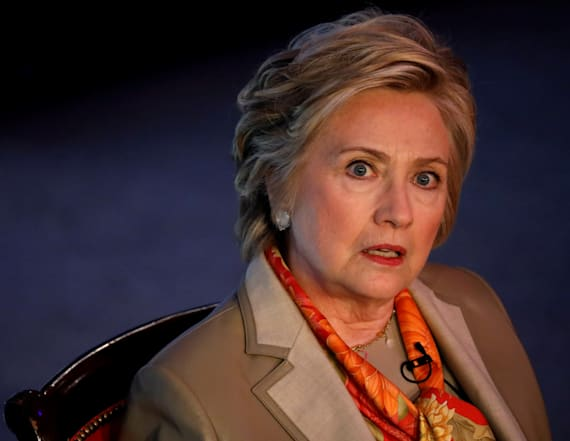 Clinton mocked on Twitter over book title
