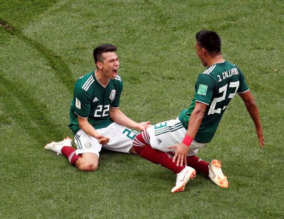 Mexico stuns German defending champions