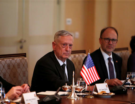 Mattis hints at secret military options for N. Korea