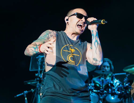 Chester Bennington died on Chris Cornell's birthday