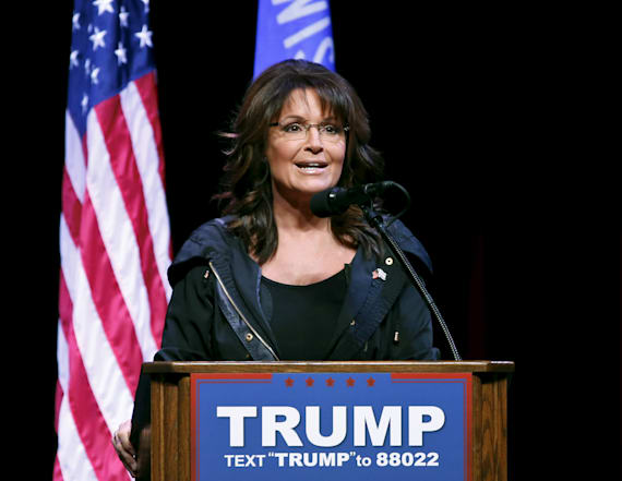 Palin reveals thoughts on Trump's first 100 days