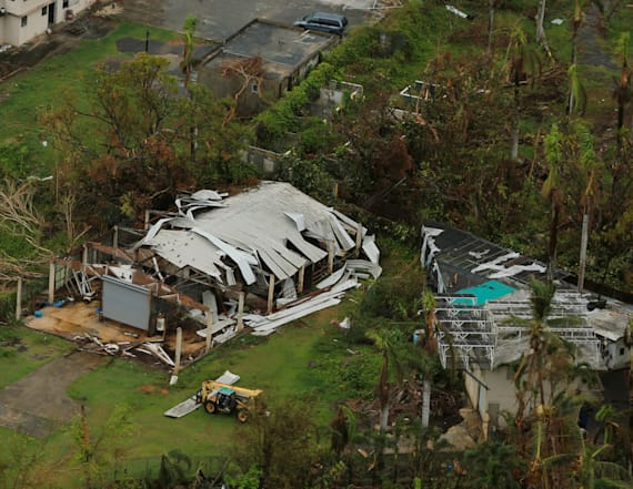 Balloons are delivering cell service to Puerto Rico