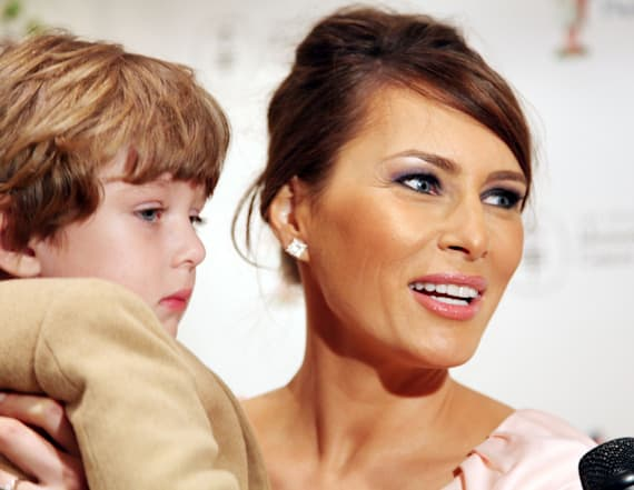 Barron Trump has grown up right before our eyes