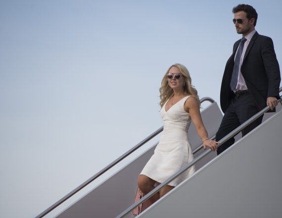 Tiffany Trump signals shift to pre-election life
