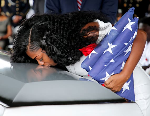 US solider killed in Niger ambush laid to rest