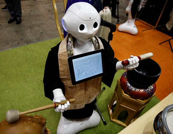 'Robot-for-hire' programmed to perform funerals