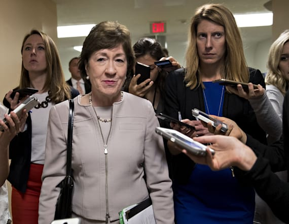 Sen. Collins to vote 'no' on GOP health care bill