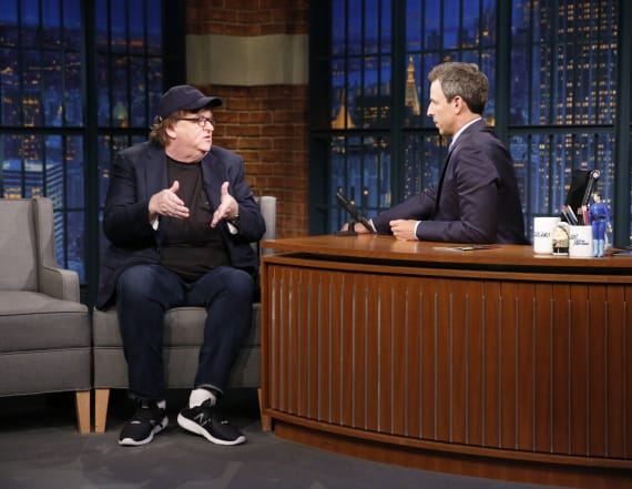 Michael Moore says he warned Clinton camp of Trump