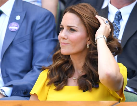 Duchess Kate stuns in Dolce & Gabbana at Wimbledon