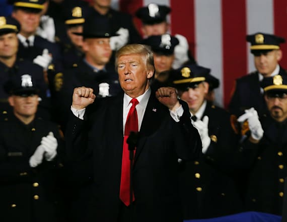 Trump to cops: 'Please don't be too nice'