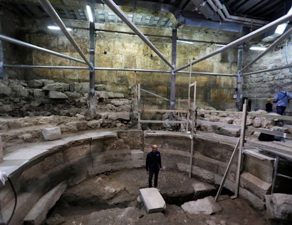 Ancient Roman theater unearthed in Jerusalem