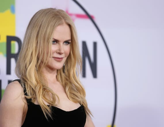 Nicole Kidman unrecognizable on set