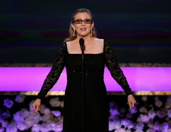 Sad detail about Carrie Fisher and 'Star Wars'