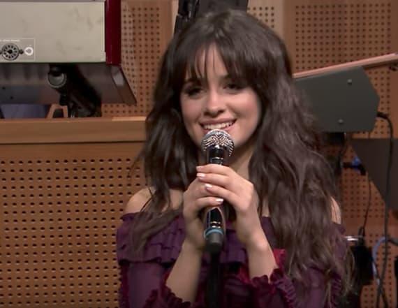 Camila Cabello performs rendition of Adele's 'Hello'